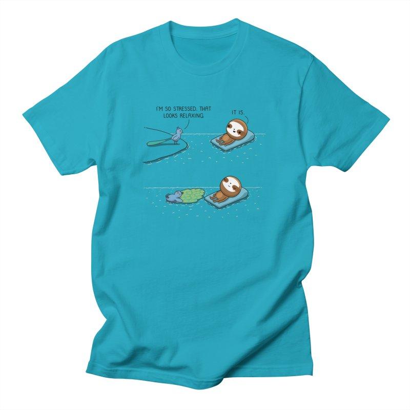 Time to relax Men's T-Shirt by wawawiwadesign's Artist Shop