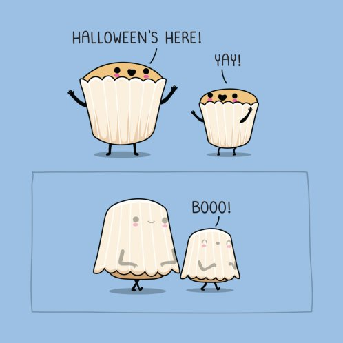 Design for Halloween's here!