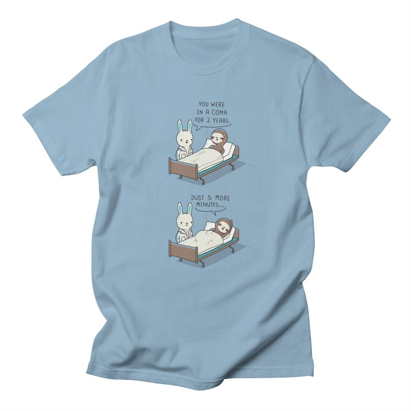 5 more minutes Men's T-shirt by wawawiwadesign's Artist Shop
