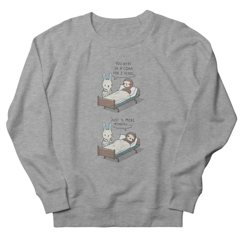5 more minutes Men's Sweatshirt by wawawiwadesign's Artist Shop