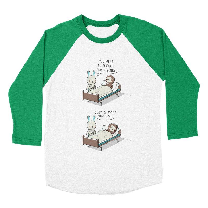 5 more minutes Women's Baseball Triblend T-Shirt by wawawiwadesign's Artist Shop