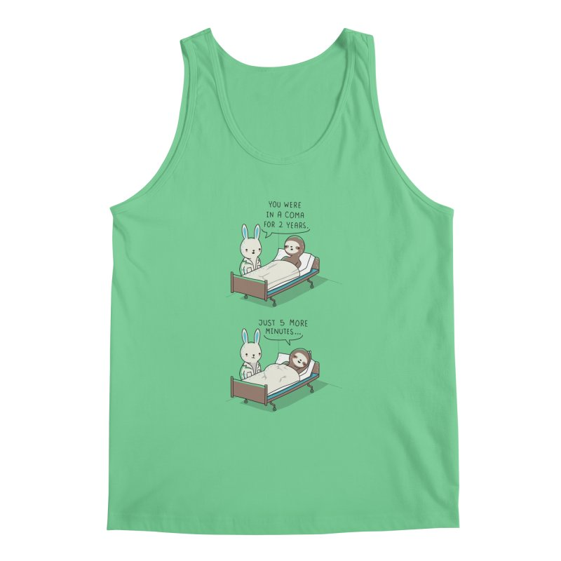 5 more minutes Men's Tank by wawawiwadesign's Artist Shop