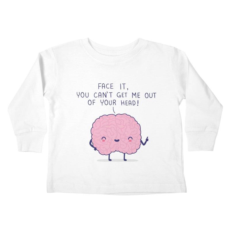 No-brainer Kids Toddler Longsleeve T-Shirt by wawawiwadesign's Artist Shop