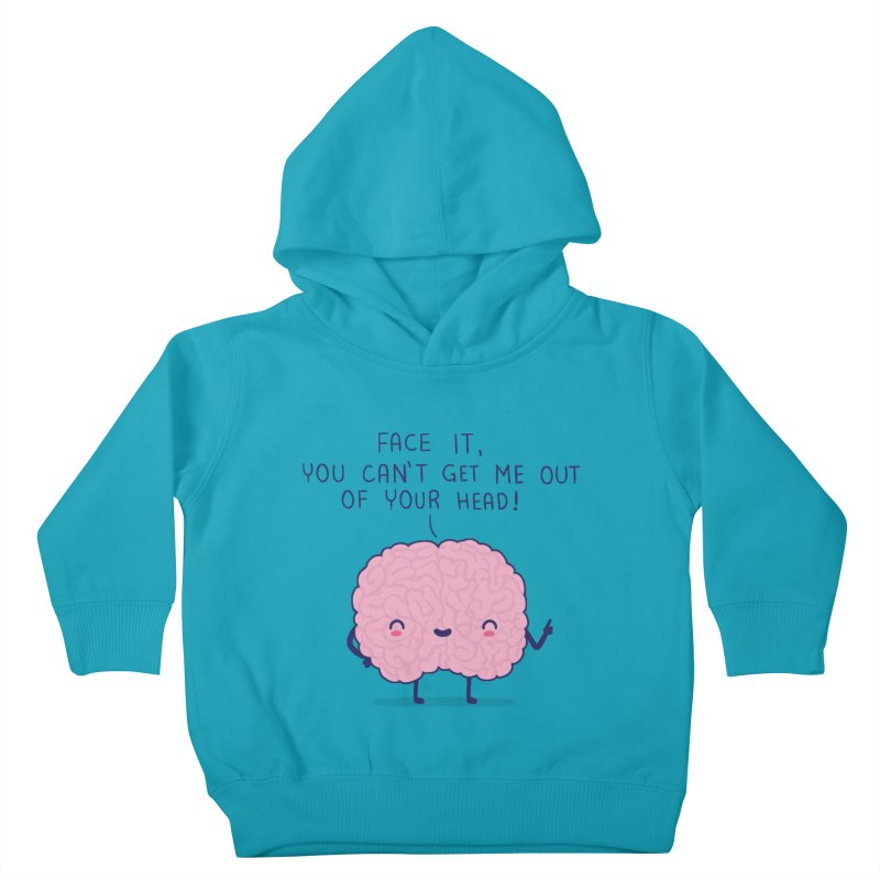 No-brainer Kids Toddler Pullover Hoody by wawawiwadesign's Artist Shop