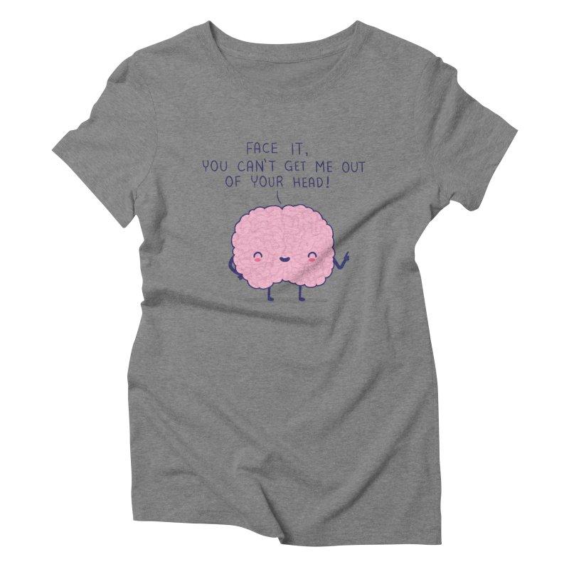No-brainer Women's Triblend T-shirt by wawawiwadesign's Artist Shop