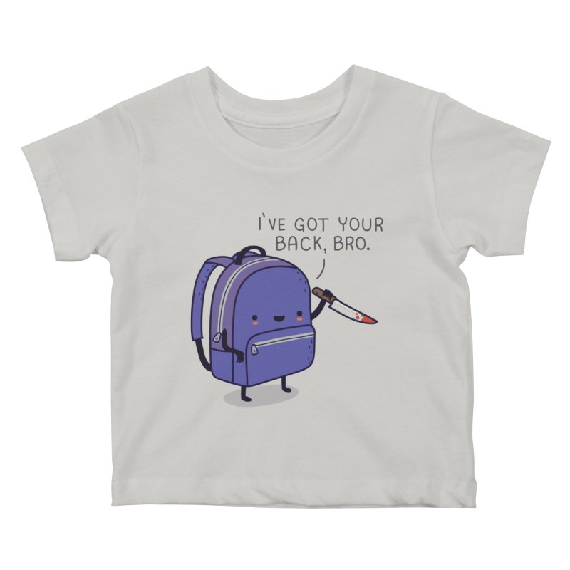 I got your back Kids Baby T-Shirt by wawawiwadesign's Artist Shop