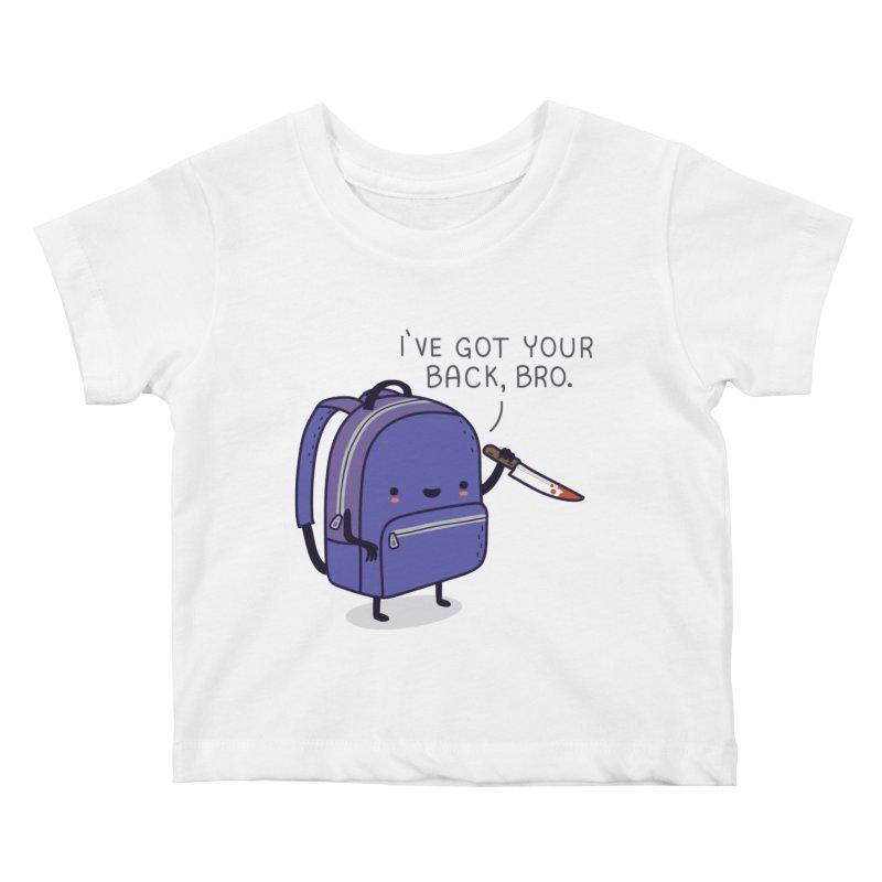 I got your back Kids Baby T-Shirt by wawawiwadesign's Artist Shop