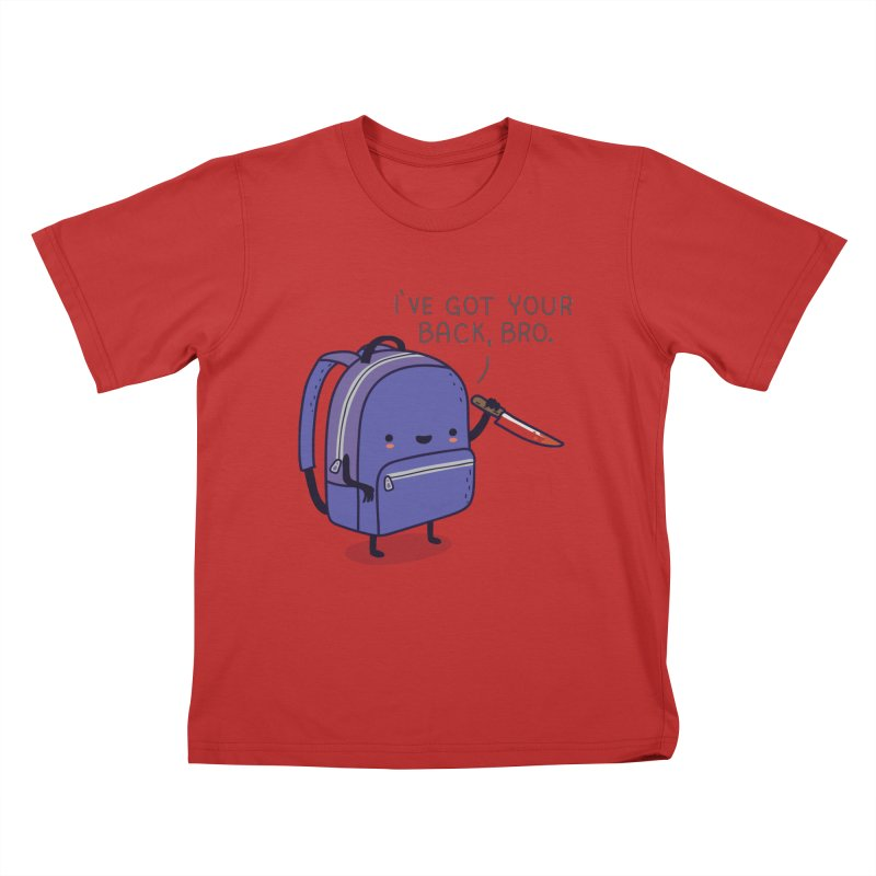 I got your back Kids T-Shirt by wawawiwadesign's Artist Shop