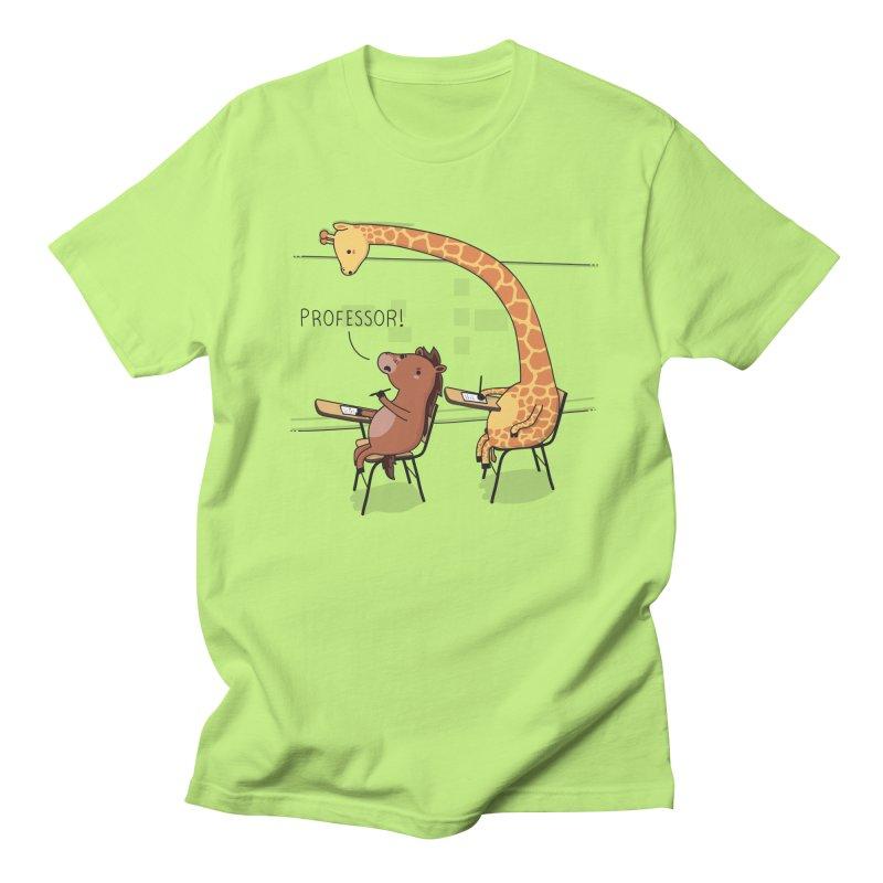 Professor! Men's T-shirt by wawawiwadesign's Artist Shop