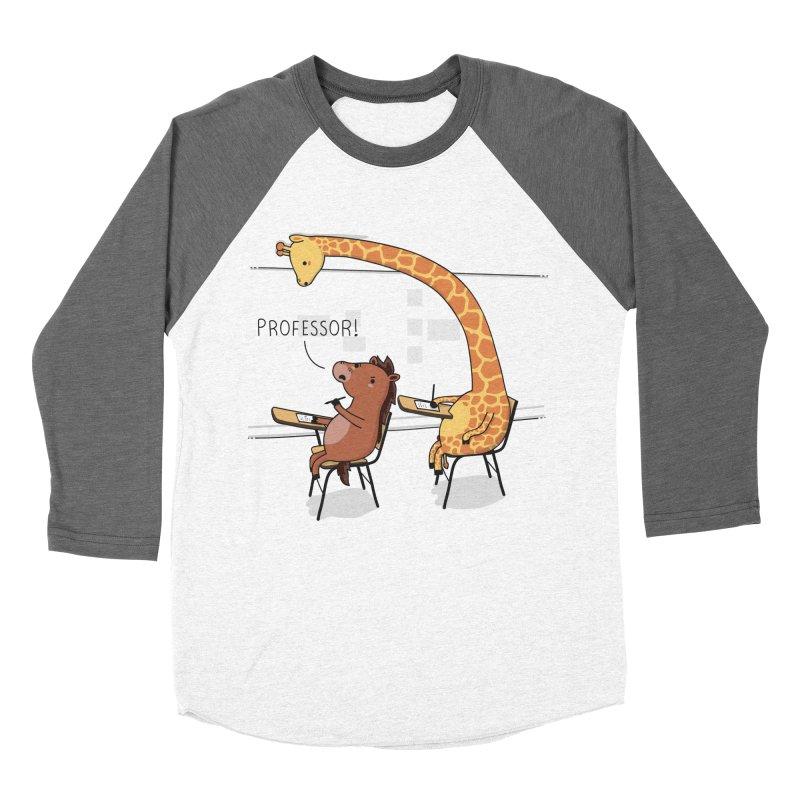 Professor! Women's Baseball Triblend T-Shirt by wawawiwadesign's Artist Shop