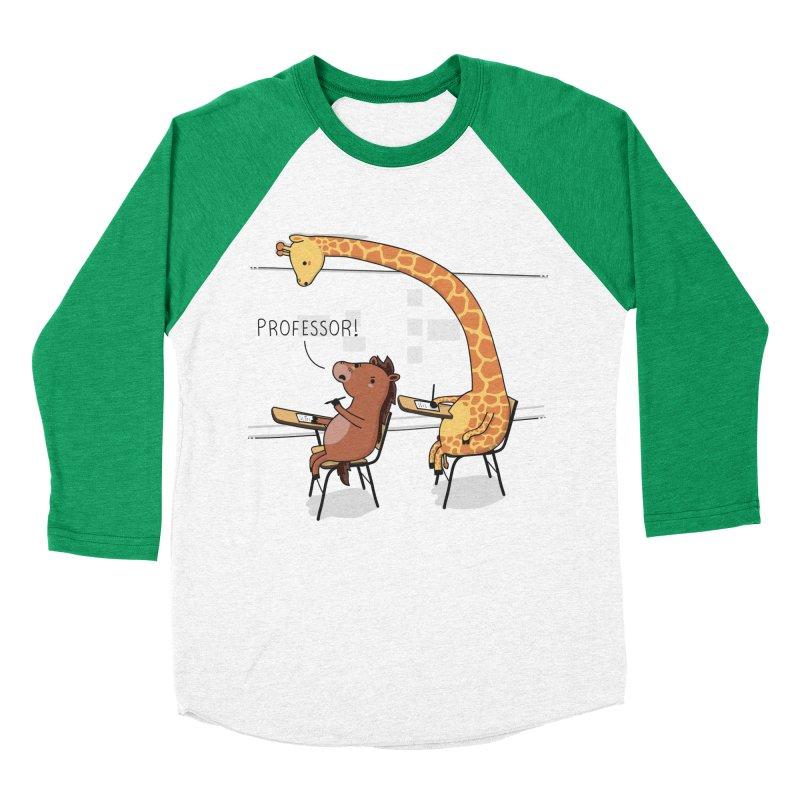 Professor! Men's Baseball Triblend T-Shirt by wawawiwadesign's Artist Shop