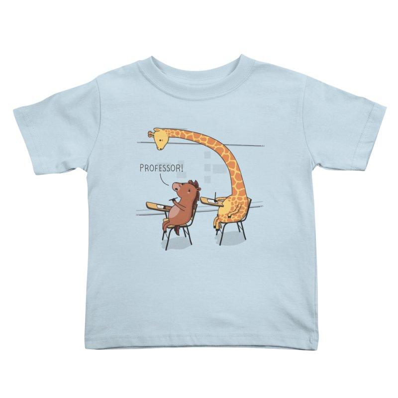 Professor! Kids Toddler T-Shirt by wawawiwadesign's Artist Shop