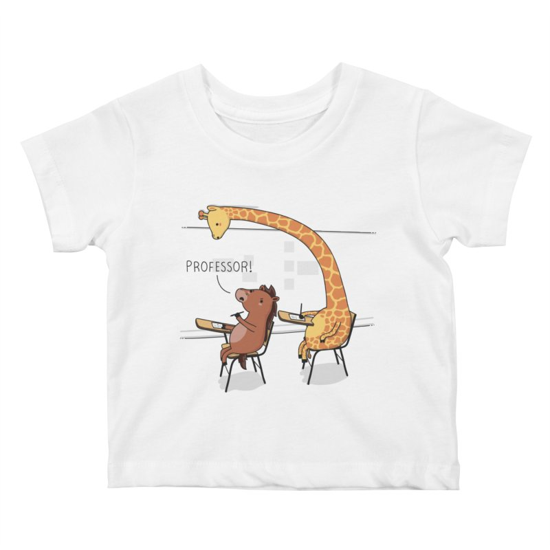 Professor! Kids Baby T-Shirt by wawawiwadesign's Artist Shop