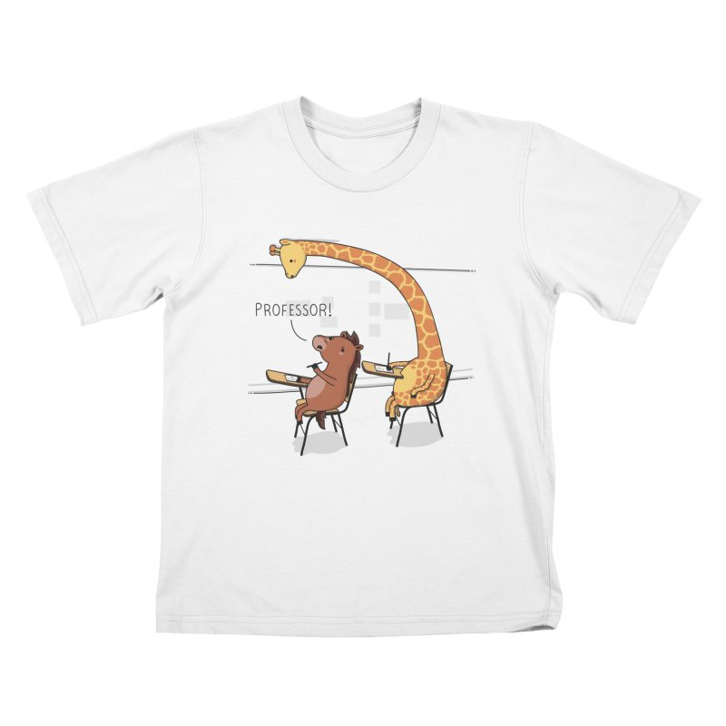 Professor! Kids T-shirt by wawawiwadesign's Artist Shop