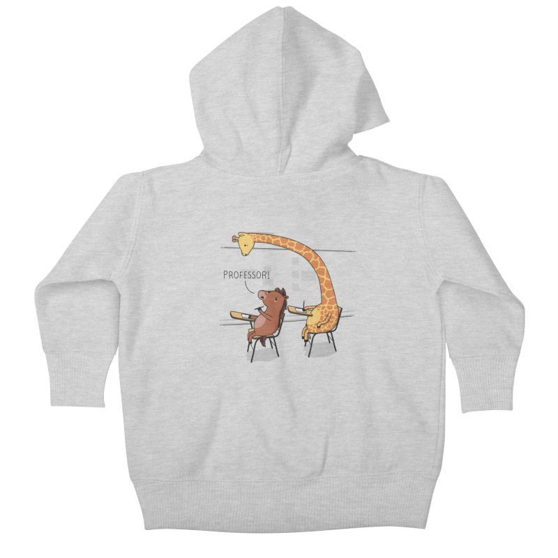 Professor! Kids Baby Zip-Up Hoody by wawawiwadesign's Artist Shop