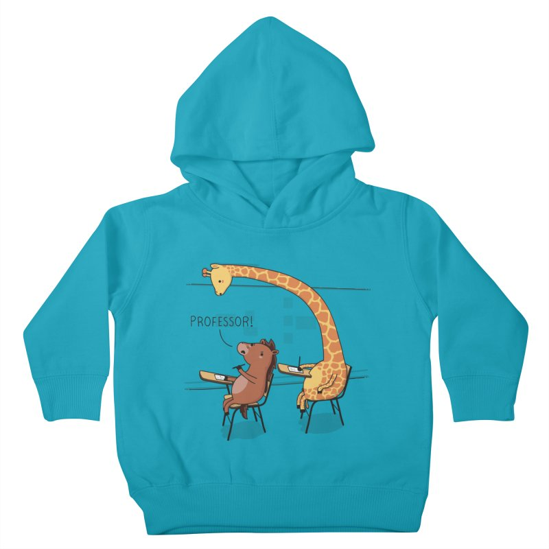 Professor! Kids Toddler Pullover Hoody by wawawiwadesign's Artist Shop