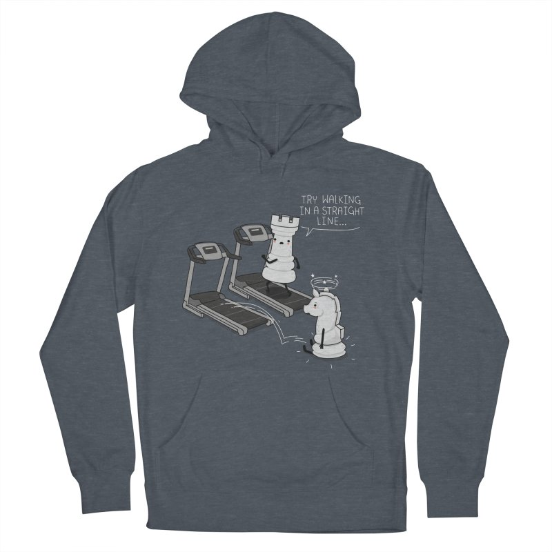 In a straight line Women's Pullover Hoody by wawawiwadesign's Artist Shop