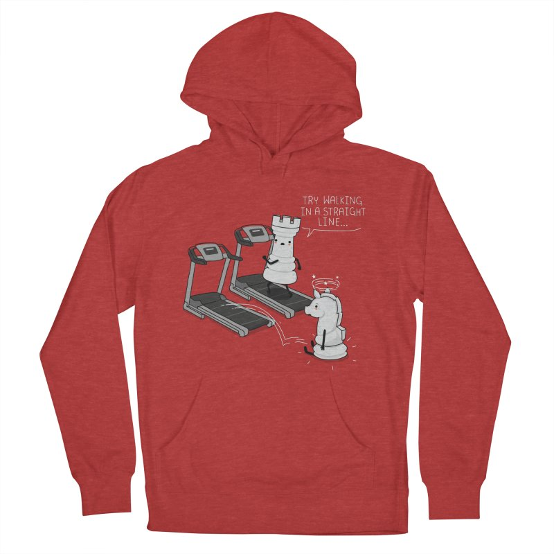 In a straight line Men's Pullover Hoody by wawawiwadesign's Artist Shop