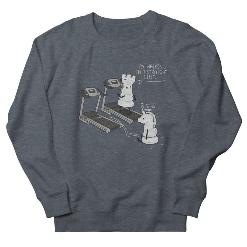 In a straight line Women's Sweatshirt by wawawiwadesign's Artist Shop