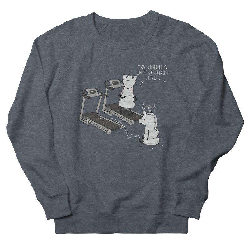 In a straight line Men's Sweatshirt by wawawiwadesign's Artist Shop