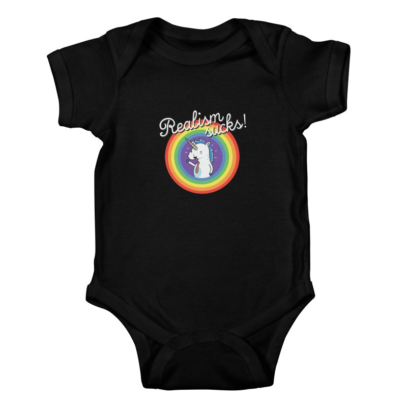 Realism sucks Kids Baby Bodysuit by wawawiwadesign's Artist Shop