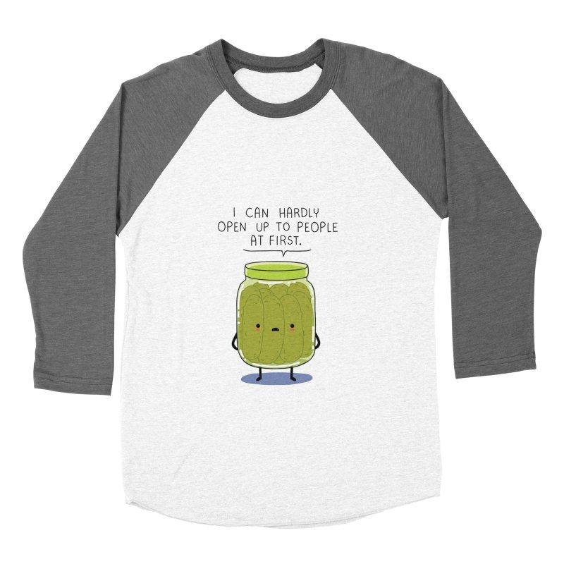Introverted jar Men's Baseball Triblend T-Shirt by wawawiwadesign's Artist Shop