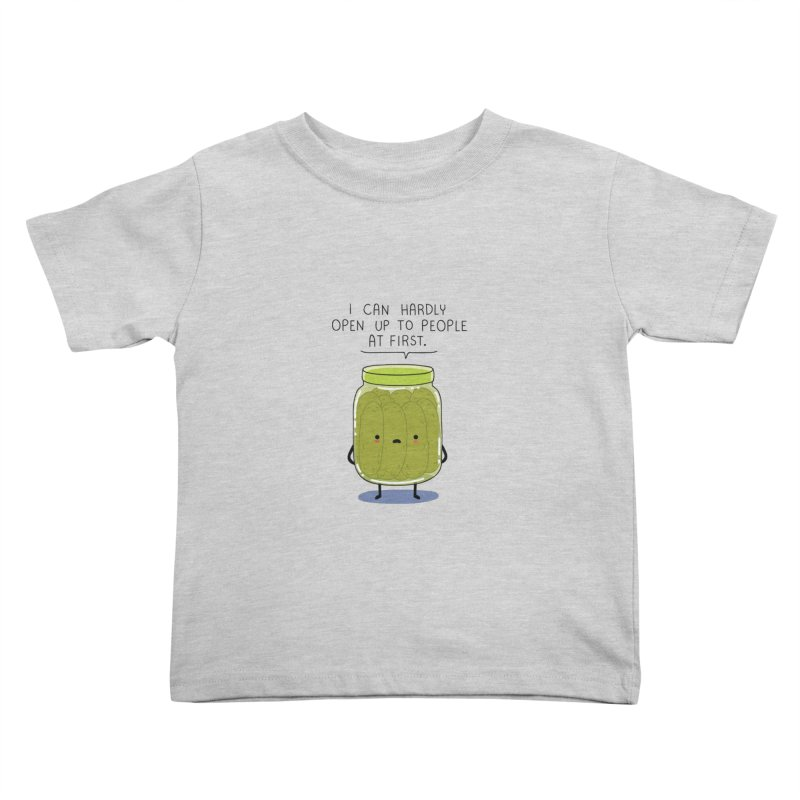 Introverted jar Kids Toddler T-Shirt by wawawiwadesign's Artist Shop