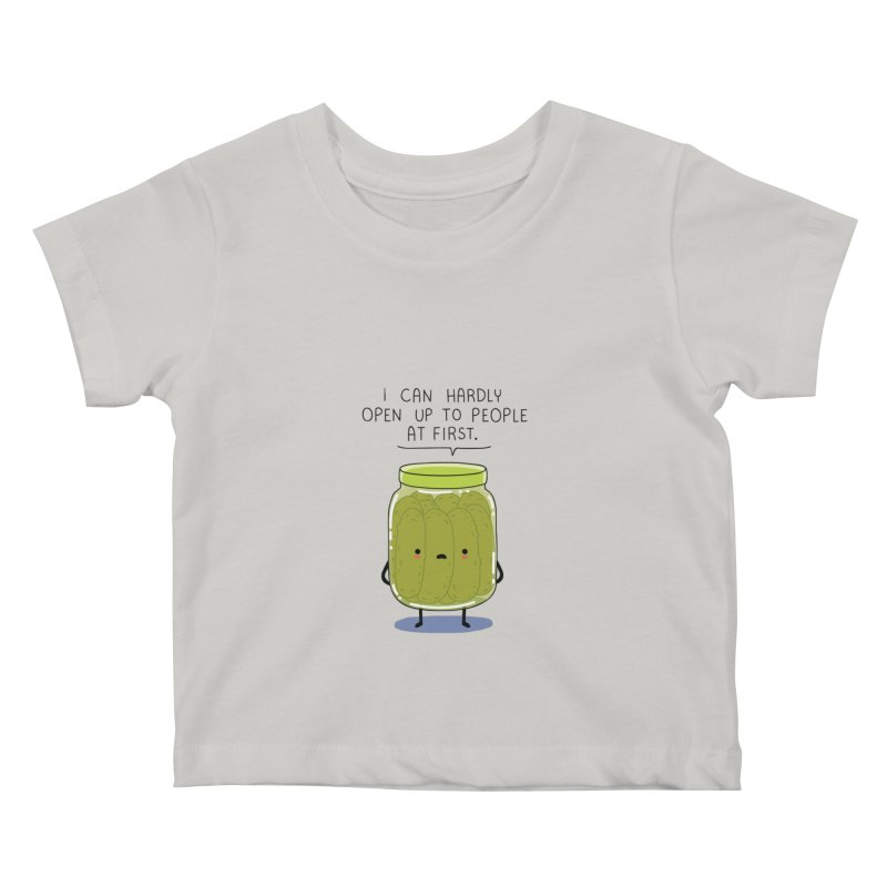 Introverted jar Kids Baby T-Shirt by wawawiwadesign's Artist Shop