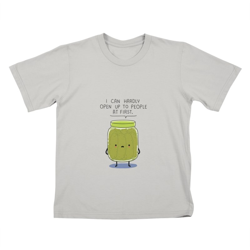 Introverted jar Kids T-shirt by wawawiwadesign's Artist Shop