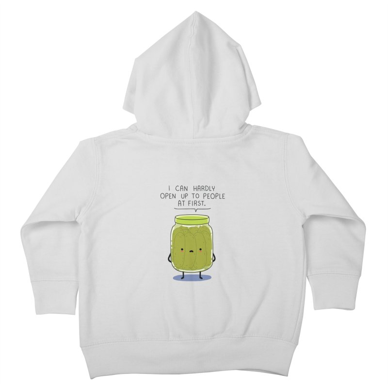 Introverted jar Kids Toddler Zip-Up Hoody by wawawiwadesign's Artist Shop