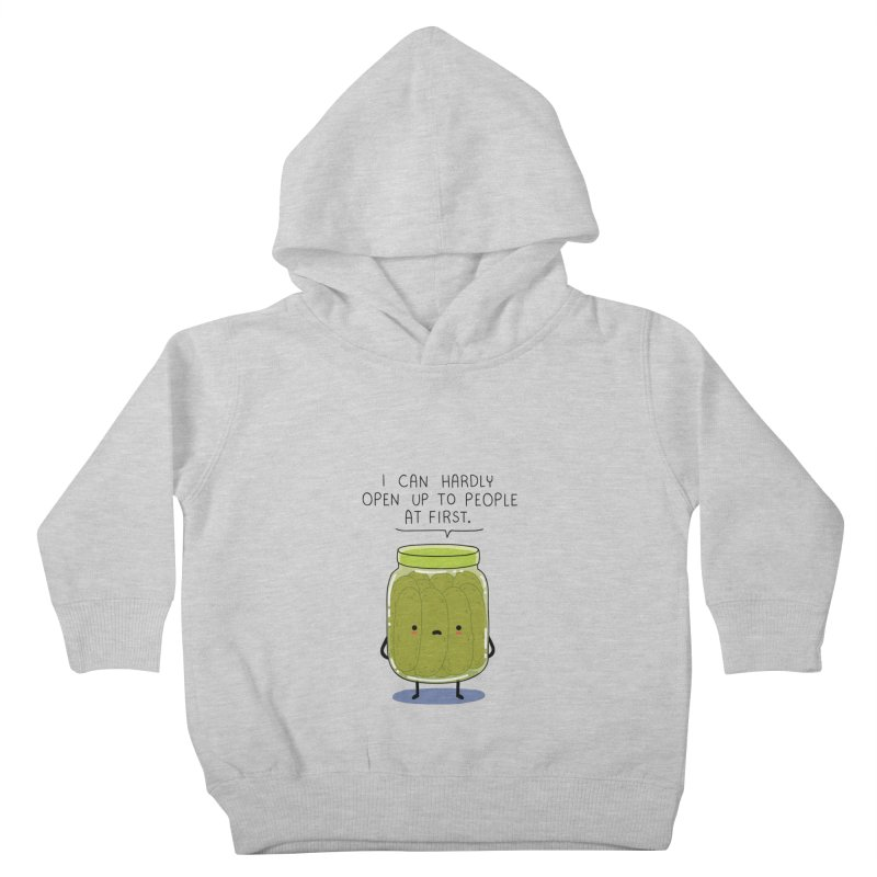 Introverted jar Kids Toddler Pullover Hoody by wawawiwadesign's Artist Shop