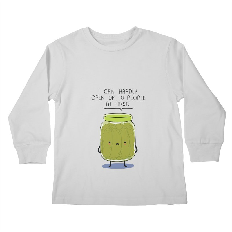 Introverted jar Kids Longsleeve T-Shirt by wawawiwadesign's Artist Shop