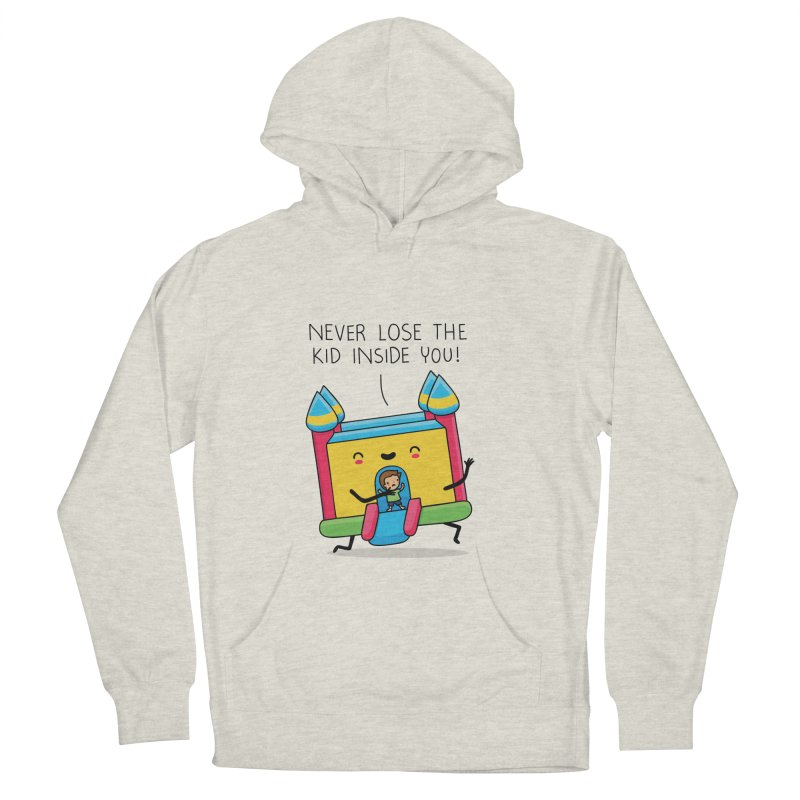 The kid inside you Men's Pullover Hoody by wawawiwadesign's Artist Shop