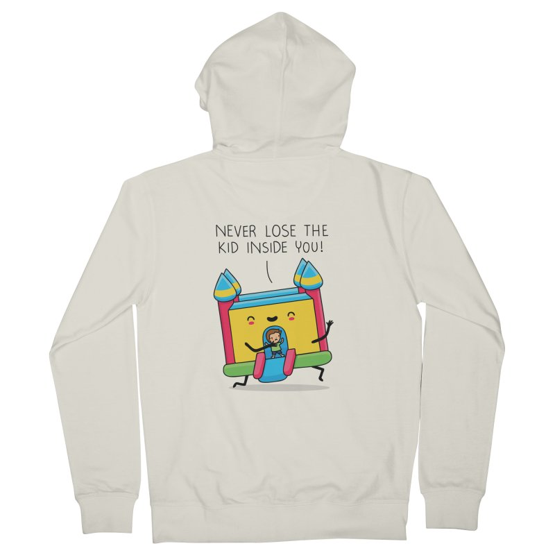 The kid inside you Women's Zip-Up Hoody by wawawiwadesign's Artist Shop