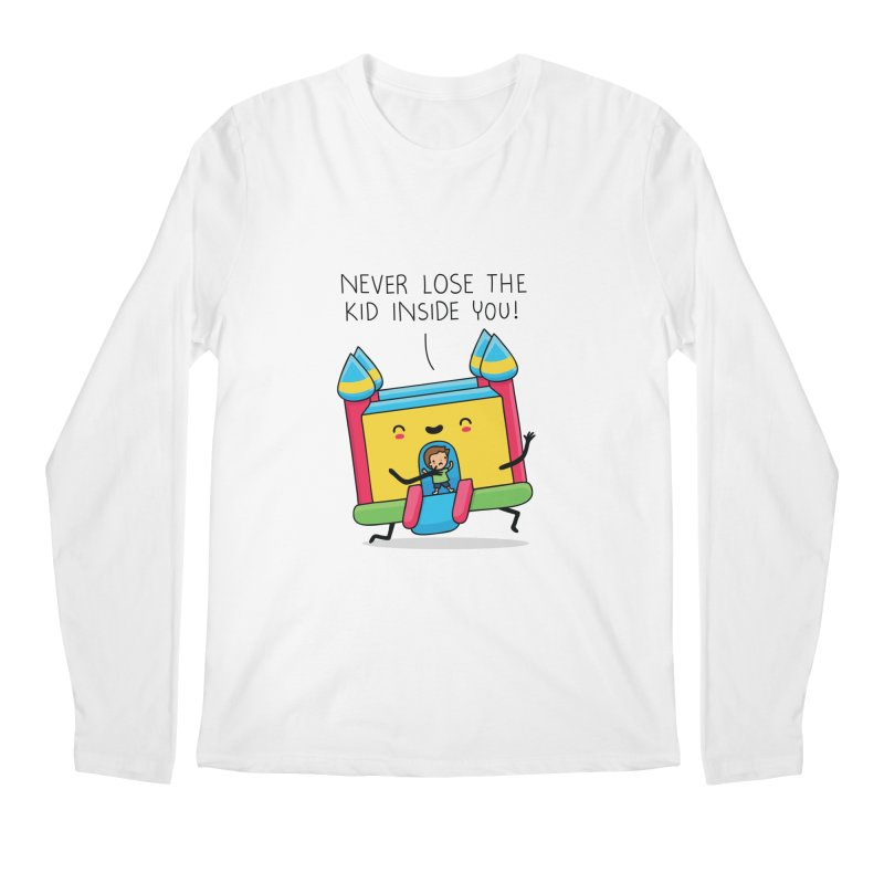 The kid inside you Men's Longsleeve T-Shirt by wawawiwadesign's Artist Shop