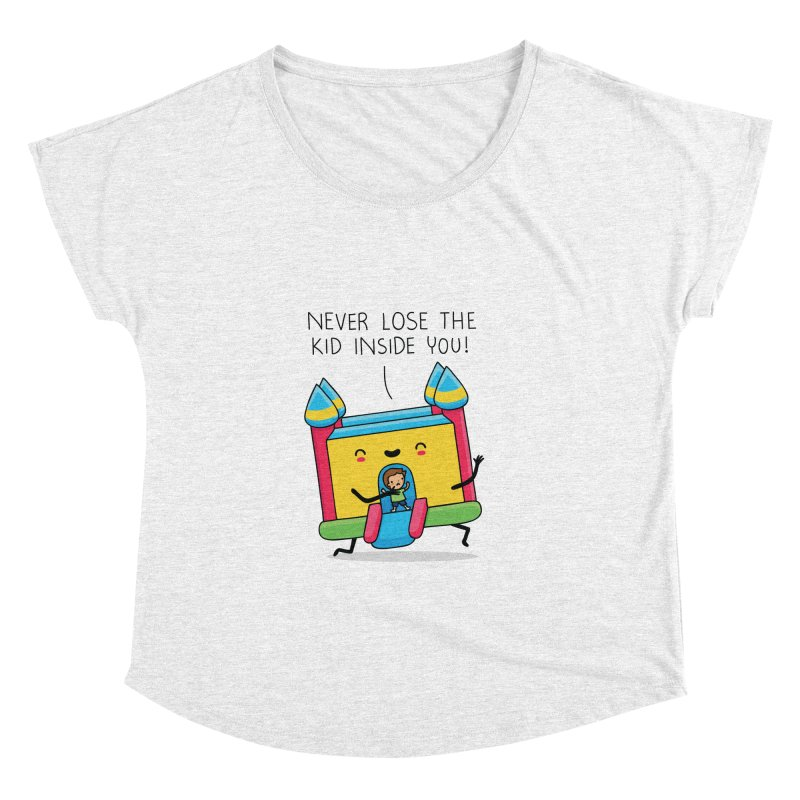 The kid inside you Women's Dolman by wawawiwadesign's Artist Shop