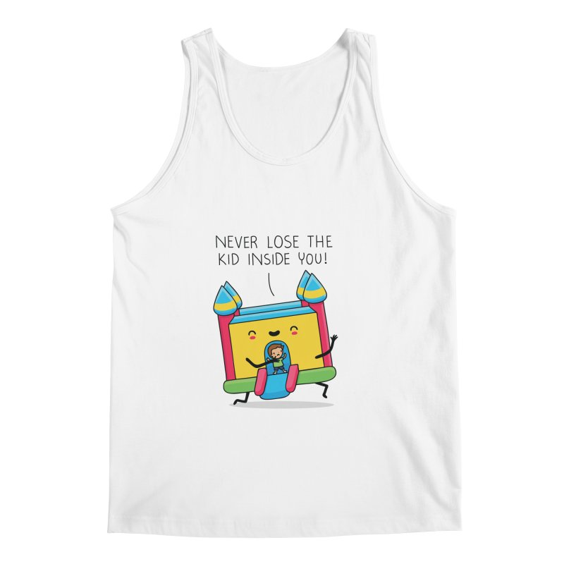 The kid inside you Men's Tank by wawawiwadesign's Artist Shop