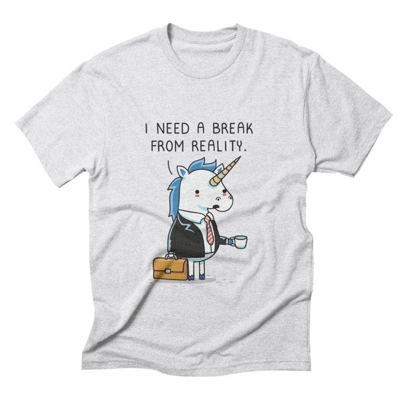 A break from reality Men's Triblend T-Shirt by wawawiwadesign's Artist Shop