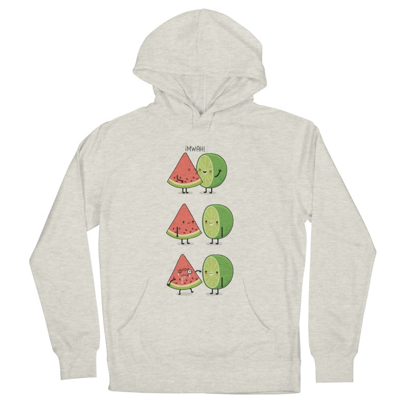 The first kiss Women's Pullover Hoody by wawawiwadesign's Artist Shop