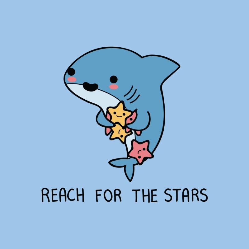 Reach for the stars Accessories Sticker by wawawiwadesign's Artist Shop