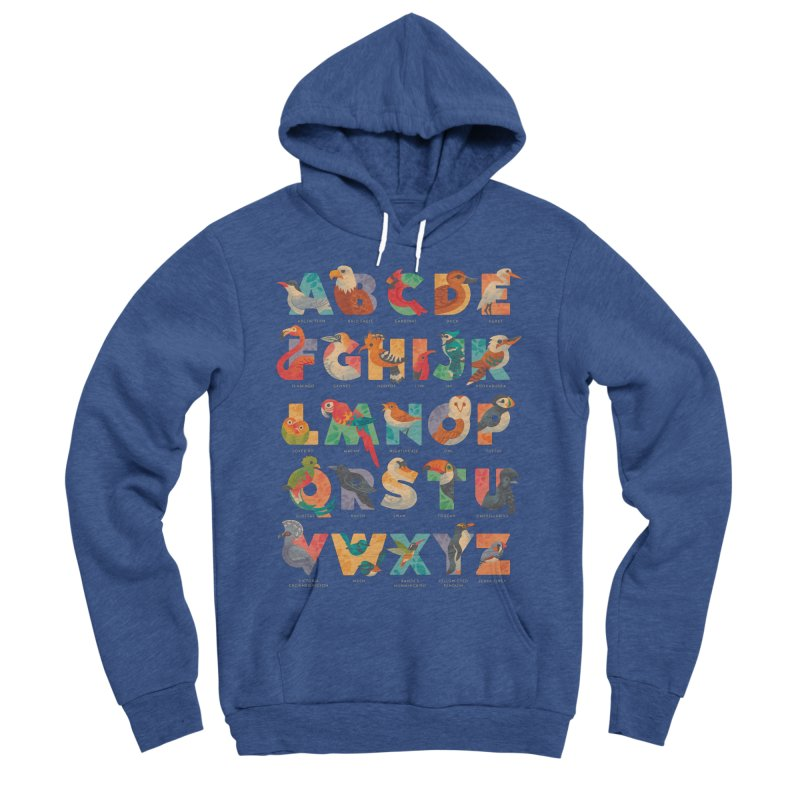 Aerialphabet (labelled) Men's Sponge Fleece Pullover Hoody by Waynem