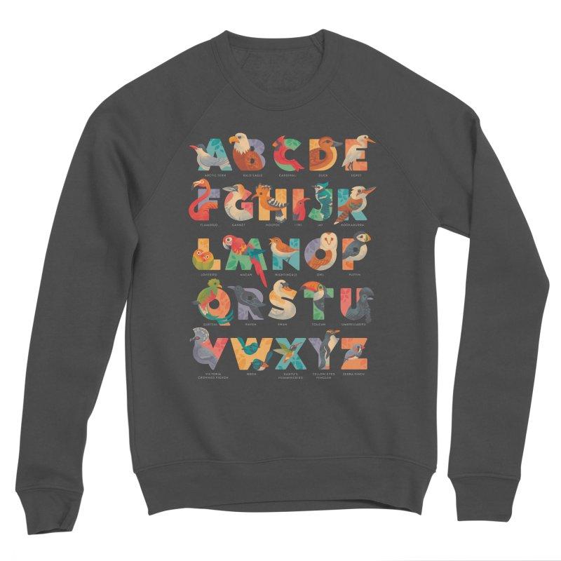 Aerialphabet (labelled) Men's Sponge Fleece Sweatshirt by Waynem