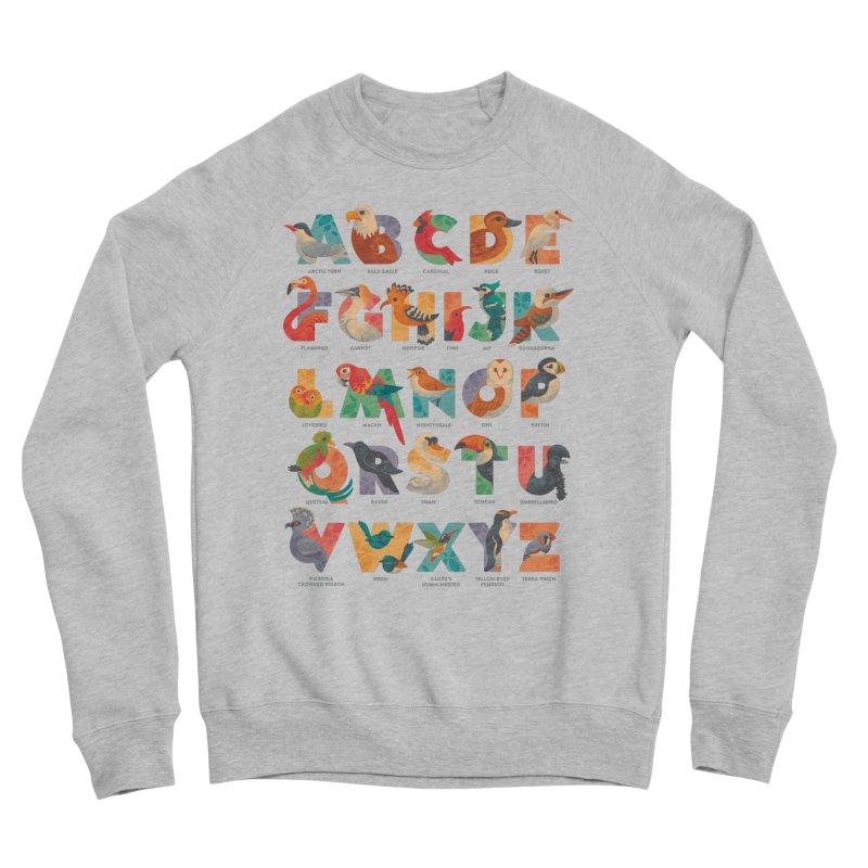 Aerialphabet (labelled) Women's Sponge Fleece Sweatshirt by Waynem