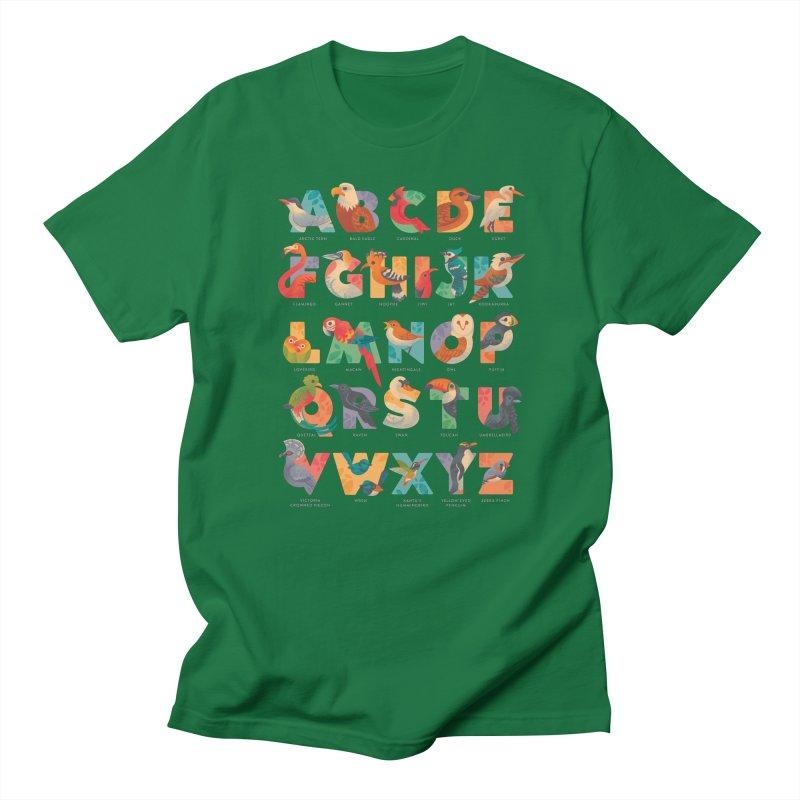 Aerialphabet (labelled) Men's T-Shirt by Waynem