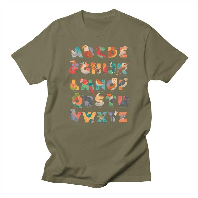 Aerialphabet (labelled) Women's Regular Unisex T-Shirt by Waynem