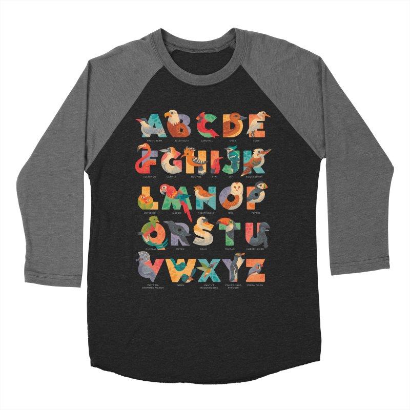 Aerialphabet (labelled) Women's Baseball Triblend Longsleeve T-Shirt by Waynem