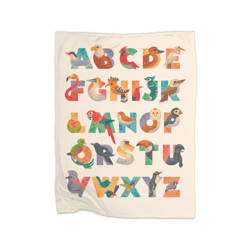 Aerialphabet Home Fleece Blanket Blanket by Waynem