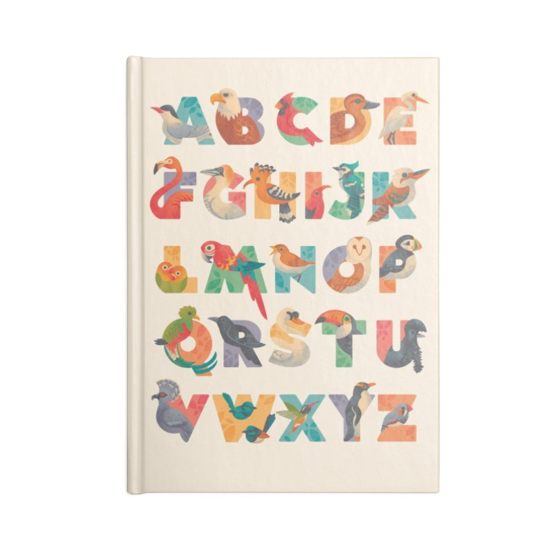 Aerialphabet Accessories Blank Journal Notebook by Waynem
