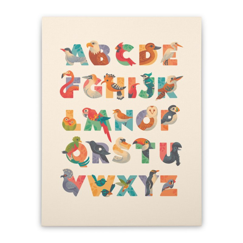 Aerialphabet Home Stretched Canvas by Waynem