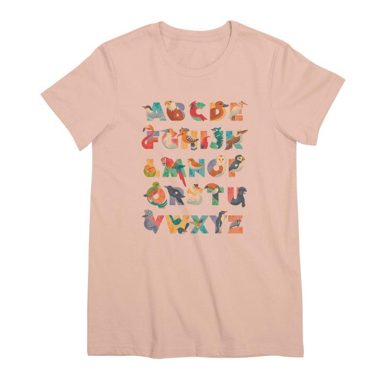 Aerialphabet Women's Premium T-Shirt by Waynem